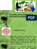 Journal of Alternative & Integrative Medicine