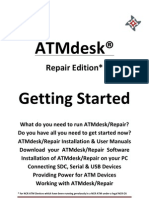 ATMdesk Repair Getting Started