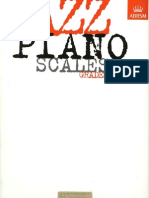 Jazz Piano Scales - Grades 1 ~ 5