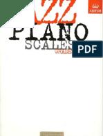 Jazz Piano Scales - Grades 1 ~ 5