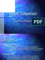 Bond Valuation Module