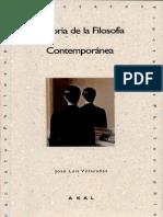 Historia de la filosofía contemporánea (extracto)