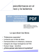 Ppt Laura Lorenzo Embarazo y Psicofarmacologia