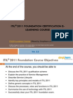 ITIL Foundation Training