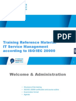 ITSM Foundation Course Material
