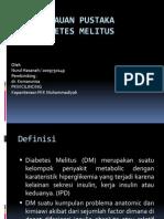 Diabetes Melitus-tinjauan Pustaka