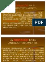 La Adoracion en El Antiguo Testamento