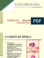 ANOMALIAS DE  SERIE BLANCA