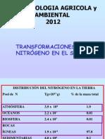 Clase 7 Nitrogeno Suelo 2012