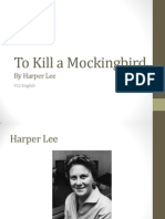 To Kill a Mockingbird background info