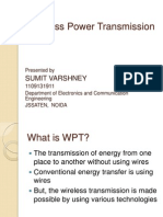 Wireless Energy Transmission Ppt PPT Download | Wireless