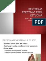 Destrezas Efectivas Para Estudiar.pptx