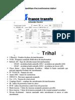 Transformateur Triphase