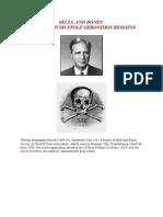 Skull and Bones Prescott Bush Stole Geronimos Remains