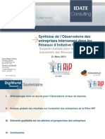 Synthese Observatoire FIRIP
