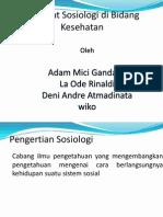 persentasi sosiologi