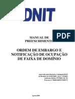 Manual de Embargo e Notificacao Completo