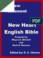 English - New Heart English Bible New Testament EPUB