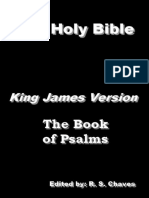 The Holy Bible KJV - Book of Psalms - EPUB
