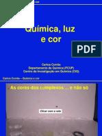 Quimica Luz Cor
