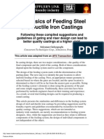 Feeding Steel and Ductile Iron Casting