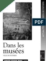 Actualités des Musées de Poitiers 1-2009