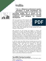 Penskoran Subjek SPM, PMR STPM UPSR oleh Pakar Motivasi Hilter Yew