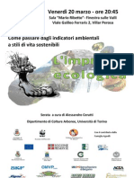 Volantino Impronta Ecologica