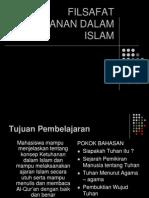 Filsafat Ketuhanan Dalam Islam