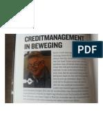 Creditmanagement in Beweging
