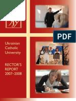 20080000.Ukr.eng.Rector Report.fr.Borys.gudziak