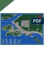 Dubrovnik Mapa