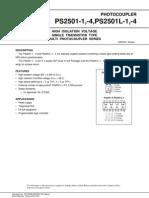 PS2501 Optocoupler Transistor