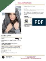Lara's Cowl