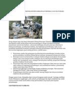 Litbang Penerapan Teknologi Penambangan Mineral Dan Batubara