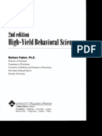 High-Yield Behavioral Science 2nd Ed
