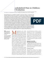 Chronic Musculoskeletal Pain in Children - Part I. Initial Evaluation.pdf