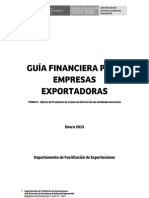 Guía Financiera para empresas exportadoras - Tomo II