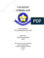 Case Report - Atresia Ani
