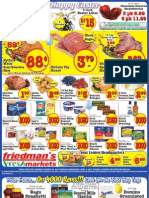 Friedman's Freshmarkets - Weekly Specials - March 28 - April 3, 2013