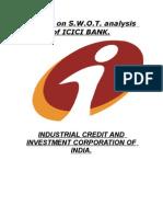 Swot of ICICI Bank