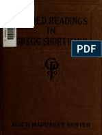 graded readings in gregg shorthand