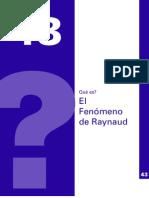 Fenomeno de Raynaud