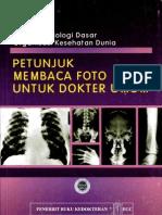 Petunjuk Membaca Foto Untuk Dokter Umum