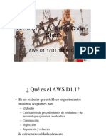 AWS D1.1-2004 Alcances