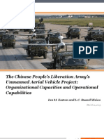 The Chinese People's Liberation Army's Unmanned Aerial Vehicle project