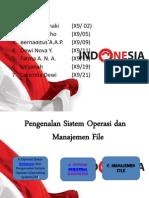 Pengenalan Sistem Operasi Dan Manajemen File