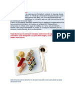 Historia Del Sushi