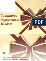 Continuous Improvement Mindset
