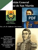 Don José de San Martín, Capitán General